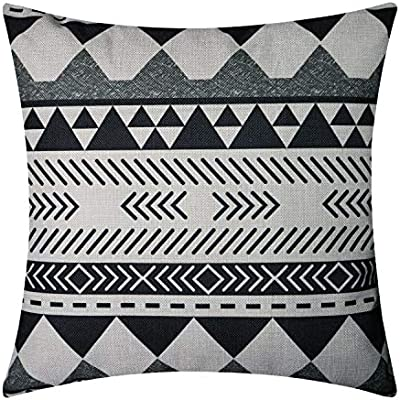 NATURALSHOW Lino y algodón casa Decorativa Azteca impresión ...