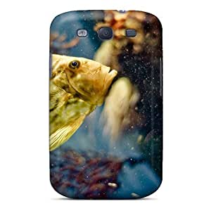 Hot RPYkolQ4993piSTP Case Cover Protector For Galaxy S3- Exotic Fish Underwater