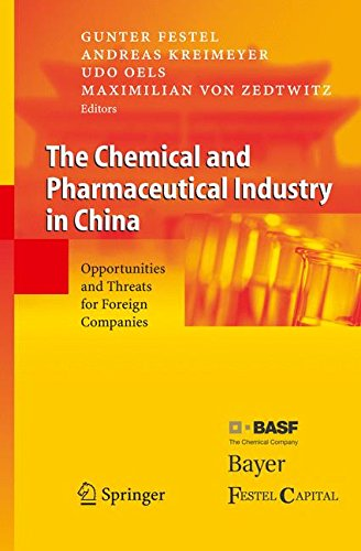 The Chemical And Pharmaceutical Industry In China  Opportunities And Threats For Foreign Companies