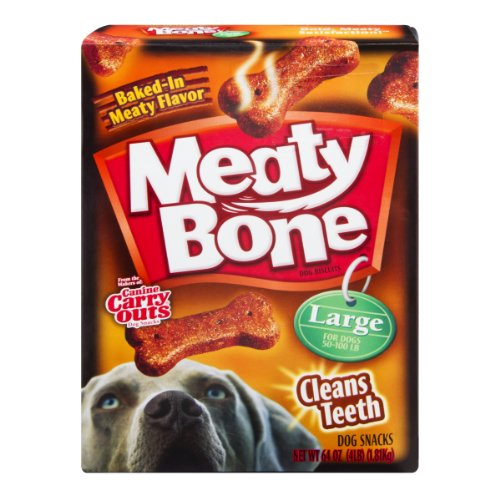 - Meaty Bone Dog Biscuits Large 50 64 OZ (Pack of 6)