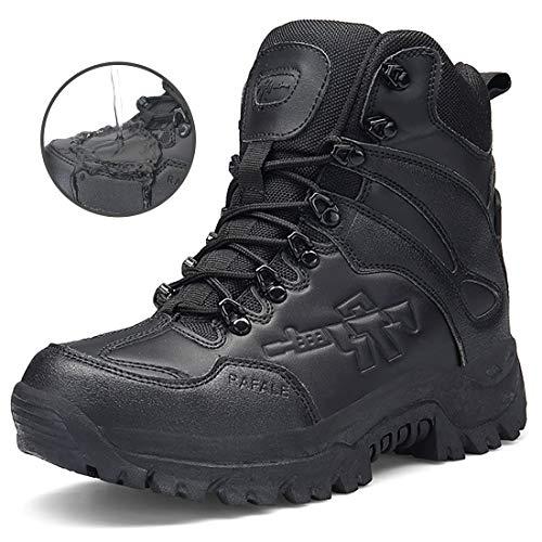 Herren Schwarz01 Für Boots Trekkingschuhe Outdoor Wanderschuhe Rutschfeste Tactical Maenner Stiefel Einsatzstiefel Damen Combat Verschleißfest Frauen Armee dqH1FdSxw