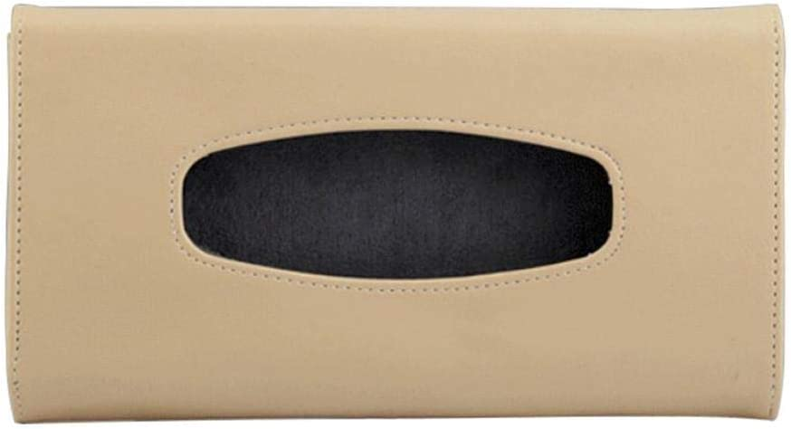 Cathy02Marshall Bo/îte /À Mouchoirs Voiture en PU Cuir Distributeur de Papier Tissue Box pour Pare-Soleil de Voiture Accessoires pour V/éhicules Organiseur de Poche Good-Looking Dependable