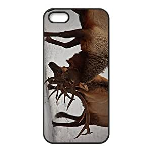 The Fighting Deer Hight Quality Plastic Case for Iphone 5s