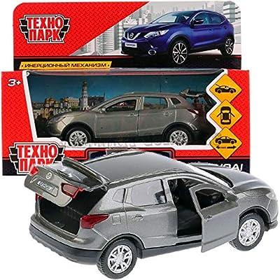 Diecast Metal Model Car Nissan Qashqai Gray Toy Die-cast Cars: Toys & Games