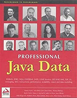 professional java server programming with servlets javaserver pages jsp xml enterprise javabeans ejb jndi corba jini and javaspaces