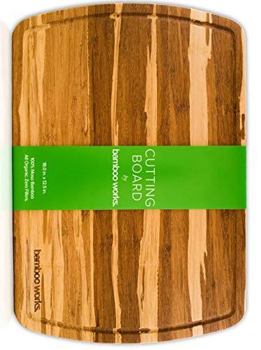 Professional Bamboo Wood Cutting Board and Cheese Board
