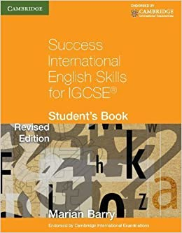 Success International English Skills for IGCSE Student's Book (Georgian Press) By Marian Barry