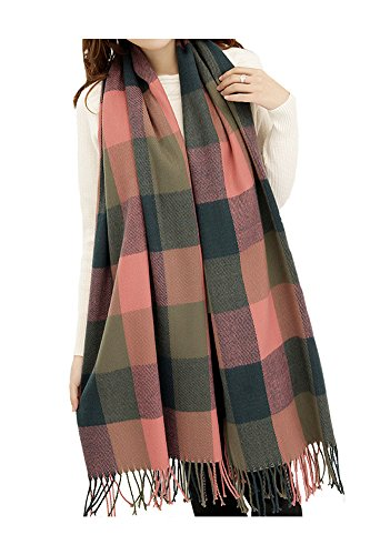 ARJOSA Pashmina Knitted Checked Pattern