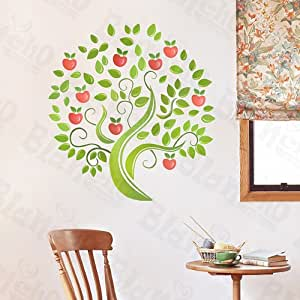 Apple Tree - X-Large Wall Decals Stickers Appliques Home Decor