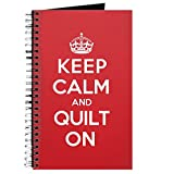 quilt diary - CafePress - Keep Calm Quilt Journal - Spiral Bound Journal Notebook, Personal Diary, Lined