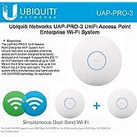Ubiquiti UniFi AP Pro 3 pack, UAP Pro 3-Pack Access Point, UAP-Pro-3 (3 PacK)