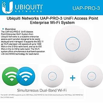 Amazon.com: Ubiquiti Unifi AP PRO 3 Pack, UAP Pro 3-Pack ...