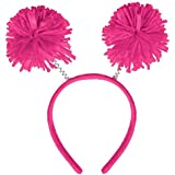 Pom Pom Headbopper - Pink