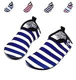 Giotto Barefoot Quick-dry Women Men Kids Water Sports Shoes Skin Aqua Socks For Swim Beach Pool Surf Yoga, Sw, Dark Blue, 28-29 | amazon.com