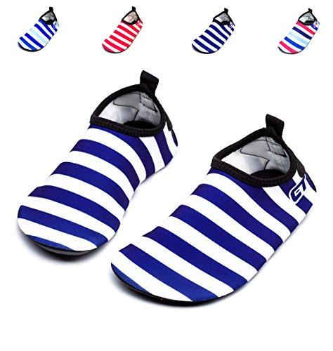 Giotto Kids Swim Water Shoes Quick Dry Antiscivolo Per Ragazzi E Ragazze E3-blu Scuro