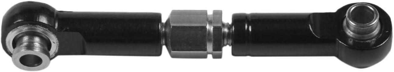 LQNB para WLtoys 144001 1//14 RC Repuestos para Autom/óViles Servo de Metal Barra de Tracci/óN Juego de Varillas de Direcci/óN Negro