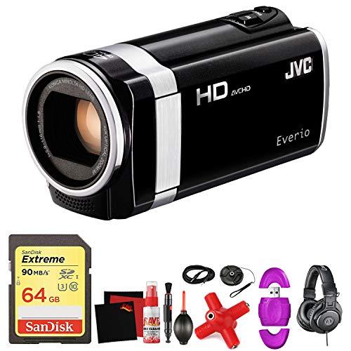 JVC GZ-HM650 HD Everio Camcorder -Mega Accessory Bundle - with Memory Card (Tripods For Digital Cameras Jvc)