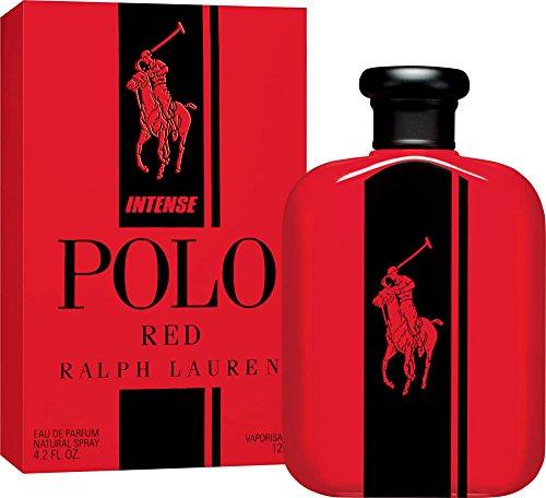 Pôlô Red Intense by Rălph Lăuren EDP Spray for Men 4.2 FL. OZ./125 ml