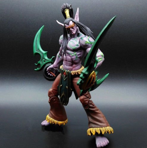 Heroes of the Storm The Betrayer illidan Stormrage Action Toy Figure Doll New A#