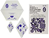 Marti Michell Perfect Patchwork Templates, Large Hexagons