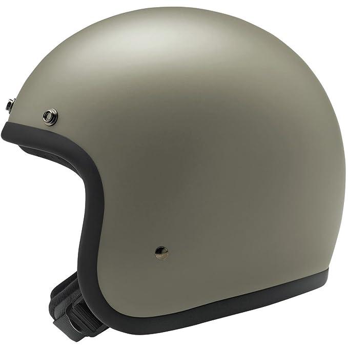 Biltwell Bonanza Helmet - Flat Titanium - Large