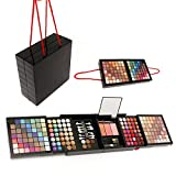 177 Colours Professional Makeup Kit, Eyeshadow Palette Lip Gloss & Blush Beauty Gift Set
