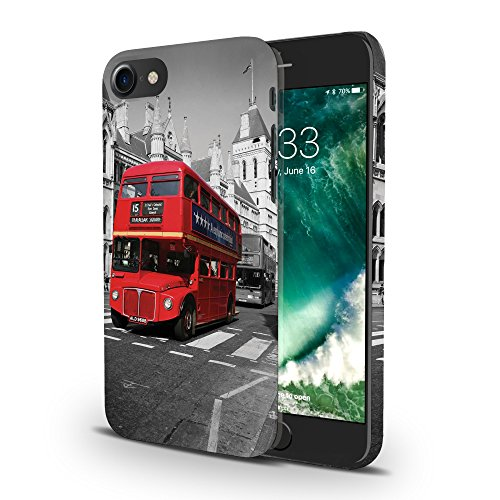 Koveru Back Cover Case for Apple iPhone 7 - The Double Decker Bus