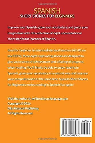 Spanish Short Stories For Beginners: 8 Unconventional Short ...