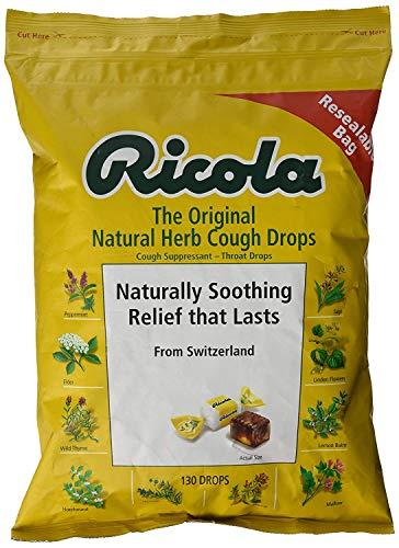 Ricola Original Natural Herb Cough Drops , MegaSize 130 Count (4Pack ) Hk#$kjD