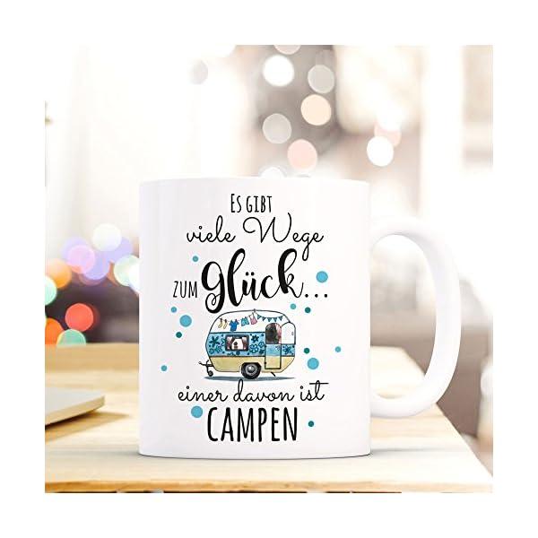 510lUdKSDnL ilka parey wandtattoo-welt® Tasse Becher Kaffeetasse Kaffeebecher Camping Wohnwagen Wohnmobil mit Punkten und Spruch…