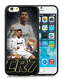 Popular iPhone 6 4.7 Inch TPU Case ,Unique And Lovely Designed With CR7 Black iPhone 6 4.7 Inch TPU High Quality Cover