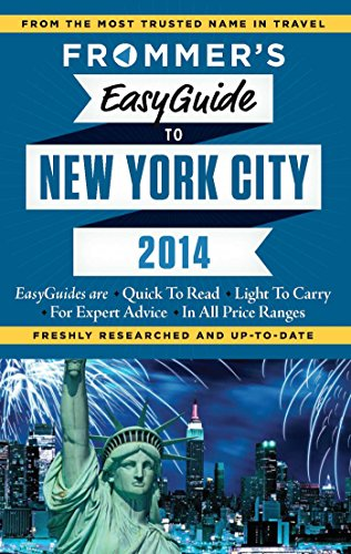 Frommer's EasyGuide to New York City 2014 (Easy Guides)