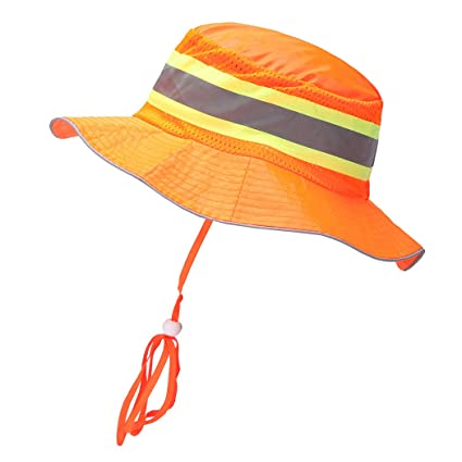 A-SAFETY High Visibility Safety Ranger Hat Orange - - Amazon.com 2a50fbefbcc7