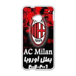 Order Case FC ACM Associazione Calcio Milan For HTC One M7 U3P202322