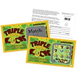 Pregnancy Announcement - Triple Your Luck Lotto Replica - Scratch Off Card - 5 Pack - My Scratch Offs