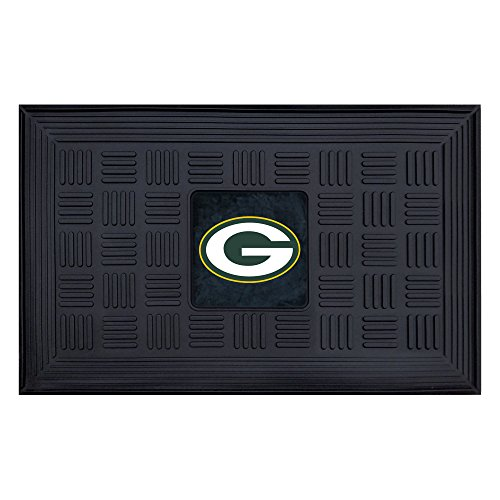 FANMATS NFL Green Bay Packers Vinyl Door Mat