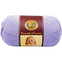 Lion Brand Yarn 550-144 Pound of Love Yarn, Lavender