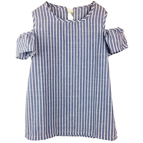 Jastore Baby Girl Clothes Summer Dress Cotton Cute Striped Princess Dresses (5T, Stripe) for $<!--$9.99-->