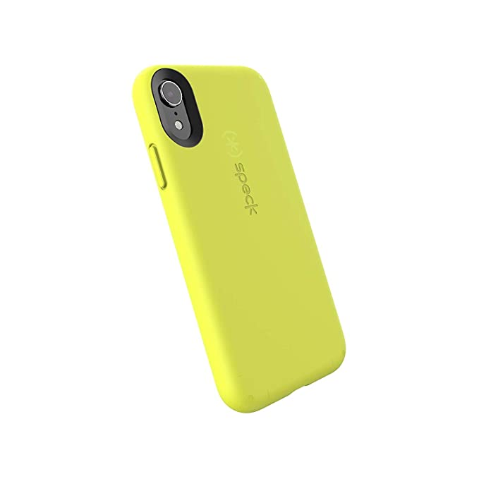 brand new 76bbb 6f01e Speck Products CandyShell Fit iPhone XR Case, Antifreeze Yellow/Antifreeze  Yellow