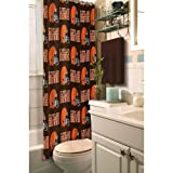 Cleveland Browns Fabric Shower Curtain