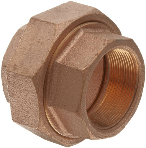 Lead Free Brass Pipe Fitting, Union, Class 250, 1