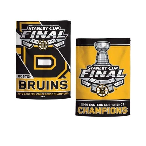 WinCraft Boston Bruins 2019 Stanley Cup Garden Flag