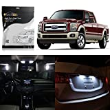 led package - Partsam 11x 2005-2016 Ford F-250 F-350 F-450 F-550 White LED Package Interior + License
