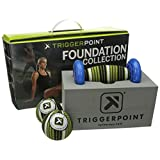 TriggerPoint Foundation Starter Kit for Deep Tissue Self-Massage (4 Piece)
