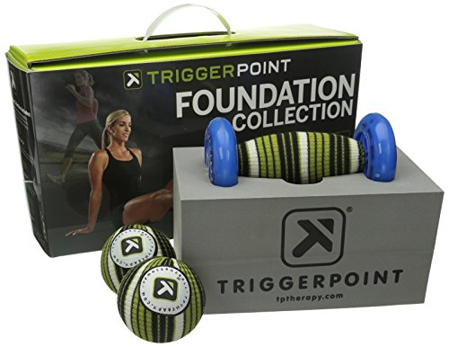 TriggerPoint Foundation Starter Kit for Deep Tissue Self-Massage (4 Piece) ()