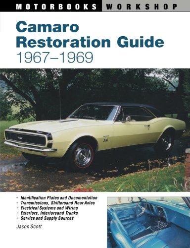 History Camaro - Camaro Restoration Guide, 1967-1969 (Motorbooks Workshop)