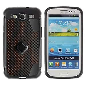 LASTONE PHONE CASE / Suave Silicona Caso Carcasa de Caucho Funda para Samsung Galaxy S3 I9300 / Abstract Pattern