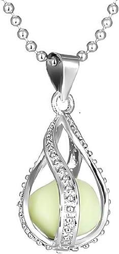 collier perle phosphorescente