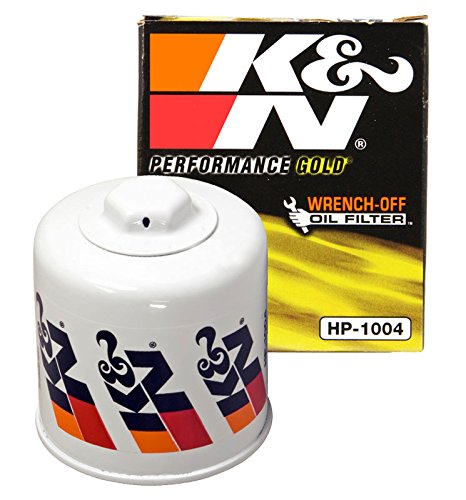 K&N HP-1004 Performance Wrench-Off Oil Filter - Accord Back Wall