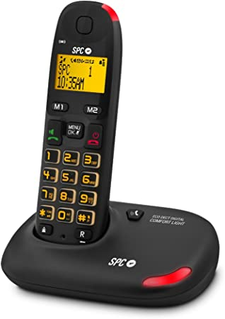 SPC 7610N - Teléfono Inalámbrico Dect: Amazon.es: Electrónica